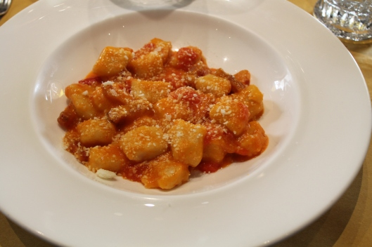The best gnocchi in Rome.