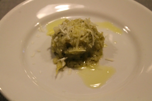 Puree of broccoli.