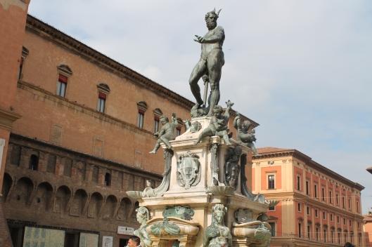 Sculpture of Neptune in Piazza Maggiore