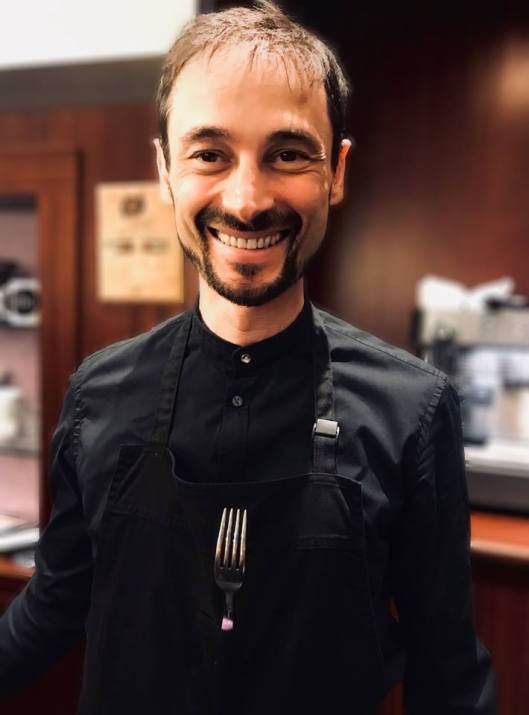74629af2e79 Alessandro Galtieri and his wife Cristina are the proprietors of the coffee  bar Aroma, in Bologna. In addition to operating Aroma, Alessandro travels  ...